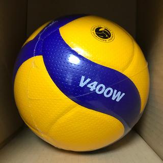 MIKASA - V400W バレーボール 検定球 4号【10球セット】