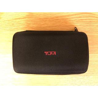 トゥミ(TUMI)のDELTA/TUMI アメニティポーチ(ブラック)(旅行用品)
