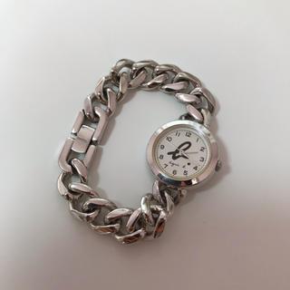 agnes b. - アニエスベー シルバー 時計