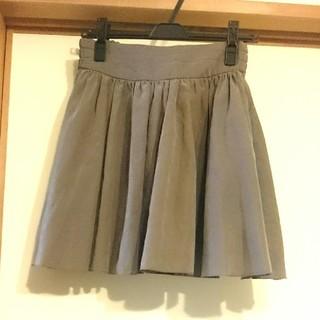 LOWRYS FARM グレーのスカート