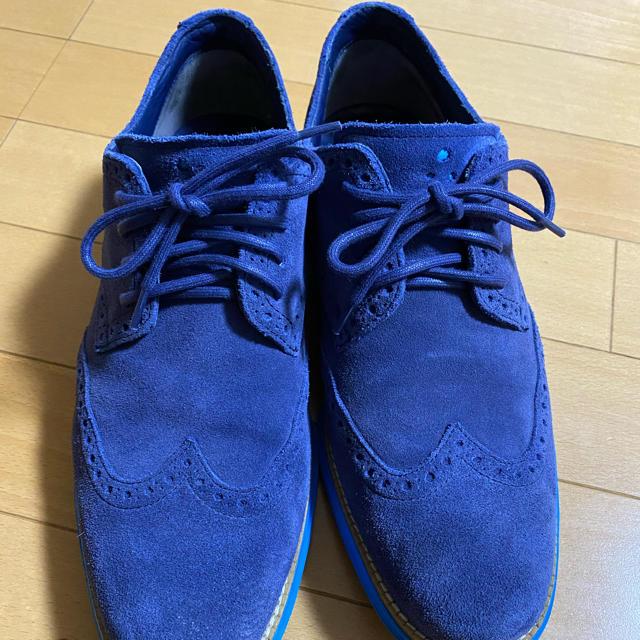Cole Haan(コールハーン)の美品 COLE HAAN LUNARGRAND WINGTIP ルナグランド メンズの靴/シューズ(スニーカー)の商品写真
