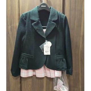 ミキハウス(mikihouse)の新品 試着のみ タグつき ミキハウス フォーマル スーツ セット(ドレス/フォーマル)