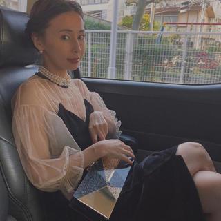 アメリヴィンテージ(Ameri VINTAGE)の田中みな実さん着用 アメリヴィンテージ ドレス 正規品 新品未使用 即日発送可能(ロングドレス)