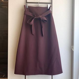 トゥモローランド(TOMORROWLAND)のBACCA トゥモローランド ラップスカート(ひざ丈スカート)