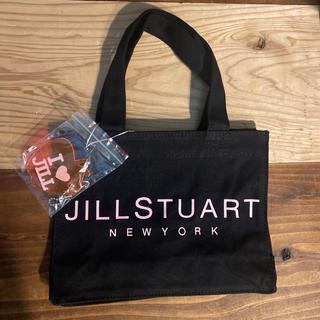 JILLSTUART - 【新品】ジルスチュアート ブラック ピンク ミニ トートバック