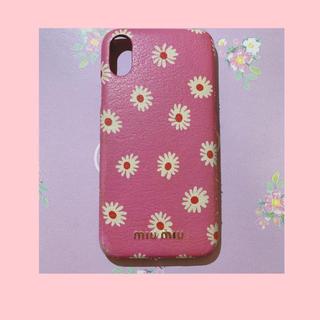 miumiu - miumiuマーガレット iPhonexケース