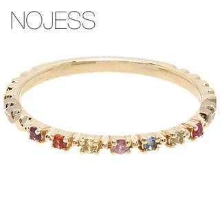 ノジェス(NOJESS)の【NOJESS】マルチカラーストーンリング/アミュレット(リング(指輪))