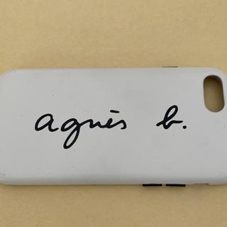 アニエスベー(agnes b.)のアニエス・ベー agnes b iPhoneケース ロゴケース 7、8対応(iPhoneケース)
