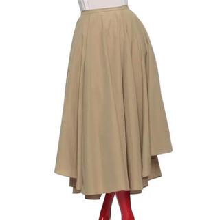 ダブルスタンダードクロージング(DOUBLE STANDARD CLOTHING)のソブ sov tamberヘムスカート フレアスカート ダブルスタンダード(ひざ丈スカート)