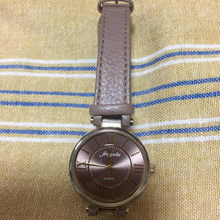 腕時計(ブラウン)(腕時計)