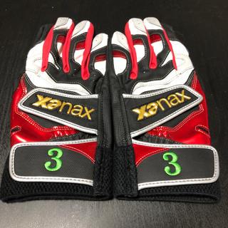 ザナックス(Xanax)のザナックスのバッティング手袋(グローブ)