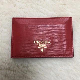 プラダ(PRADA)のPRADA パスケース 定期入れ プラダ(名刺入れ/定期入れ)