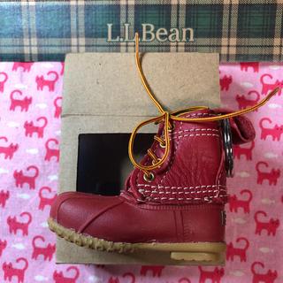 エルエルビーン(L.L.Bean)のL.L.Bean キーホルダー ⭐️シューズモチーフ 赤(キーホルダー)