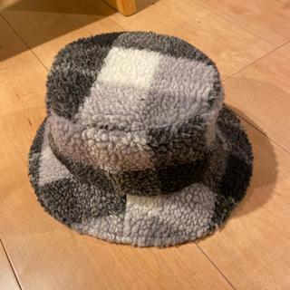 ハッシュアッシュ(HusHush)のハッシュアッシュ新品リバーシブルハット52cm(帽子)