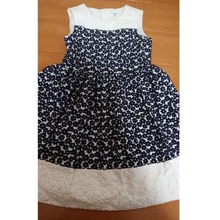 TOCCA - TOCCA 140 ドレス ワンピース 130 美品