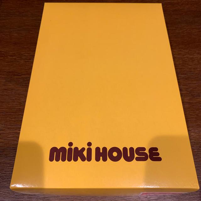 mikihouse(ミキハウス)のミキハウス フード付きバスタオル キッズ/ベビー/マタニティのキッズ/ベビー/マタニティ その他(その他)の商品写真