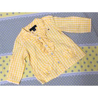 トミーヒルフィガー(TOMMY HILFIGER)のトミー♡シャツ 80cm おしゃれ(Tシャツ)