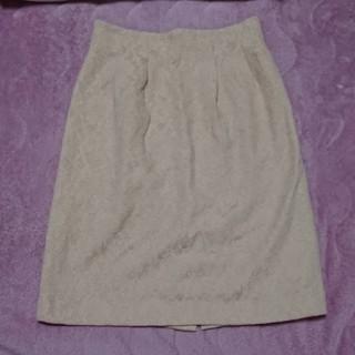 ロペピクニック(Rope' Picnic)のロペピクニック レースタイトスカート(ひざ丈スカート)