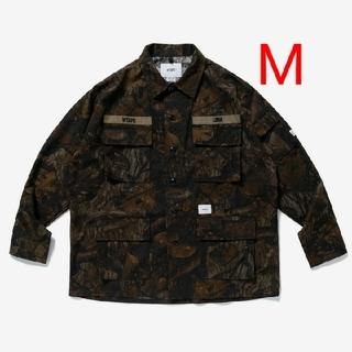 W)taps - wtaps jungle shirt cotton ripstop camo M