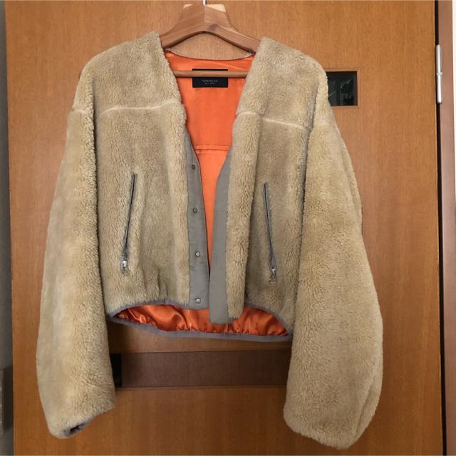 TOMORROWLAND(トゥモローランド)のtomorrow land ショートボアブルゾン レディースのジャケット/アウター(ブルゾン)の商品写真