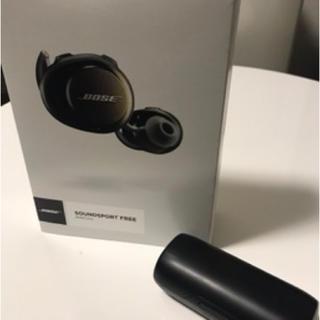 ボーズ(BOSE)のBose SoundSport Free完全ワイヤレスイヤホン(ヘッドフォン/イヤフォン)