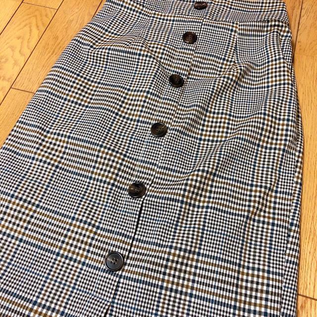 Avail(アベイル)のチェック タイトスカート レディースのスカート(ロングスカート)の商品写真