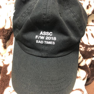 アンチ(ANTI)のassc アンチソーシャルソーシャルクラブ キャップ(キャップ)