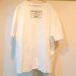 バレンシアガ(Balenciaga)の【底値】BALENCIAGA バレンシアガ バックプリント Tシャツ(Tシャツ/カットソー(半袖/袖なし))