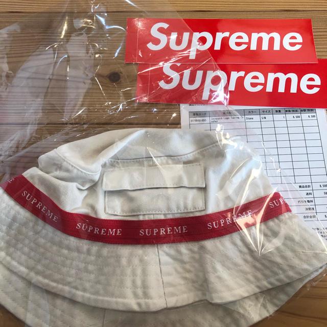 Supreme(シュプリーム)のJacquard Logo Taping Crusher メンズの帽子(ハット)の商品写真