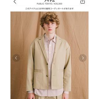 ステュディオス(STUDIOUS)のPUBLIC TOKYO パブリックトウキョウ テーラードジャケット(テーラードジャケット)