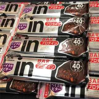 モリナガセイカ(森永製菓)の【14本】森永 糖質40%オフ タンパク質10g  プロテイン ベイクドビター(プロテイン)