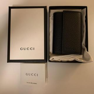 Gucci - 【値下げ】Gucci レザーキーケース