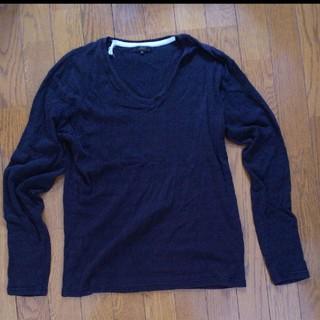 ブラウニー(BROWNY)のブラウニー  カットソー  ブラック  メンズ  ロンT(Tシャツ/カットソー(七分/長袖))