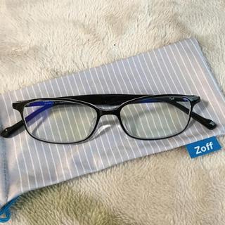 ゾフ(Zoff)のZoff PC 度なし ブルーライトカットレンズ メガネ(サングラス/メガネ)