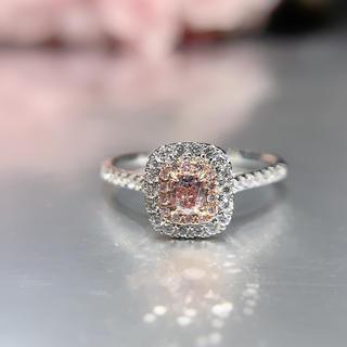 特価ピンクダイヤモンドシンプル指輪(リング(指輪))