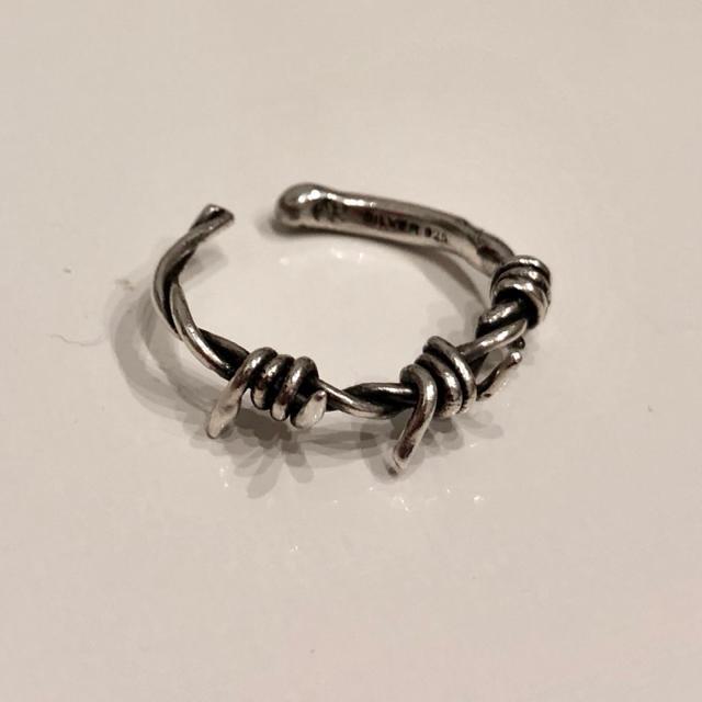 Chrome Hearts(クロムハーツ)のALICEBLACK 有刺鉄線 リング レディースのアクセサリー(リング(指輪))の商品写真