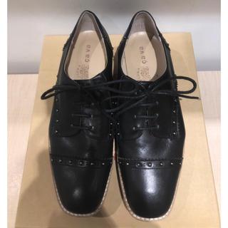 サヴァサヴァ(cavacava)のcavacava スタッズ付レースアップシューズ(ローファー/革靴)