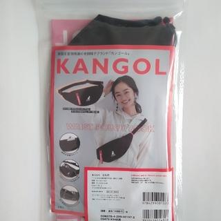 カンゴール(KANGOL)のKANGOL WAIST POUCH BOOK RED(ボディバッグ/ウエストポーチ)