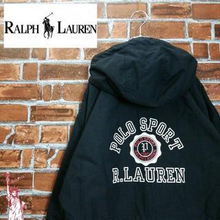 ラルフローレン(Ralph Lauren)の【ビッグロゴ】【裏起毛】ラルフローレン☆ナイロンジャケット パーカー(ナイロンジャケット)
