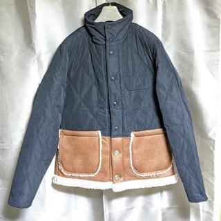 ウィズ(whiz)のWHIZ LIMITEDムートンレザー切り替えジャケット(ブルゾン)