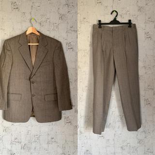 ジョンローレンスサリバン(JOHN LAWRENCE SULLIVAN)のセットアップ グレー 古着 メンズ 80s 90s スーツ 韓国 バブル 灰色(セットアップ)