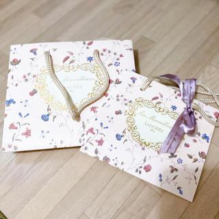 レメルヴェイユーズラデュレ(Les Merveilleuses LADUREE)のレ・メルヴェイユーズ ラデュレ ショップ袋・試供品(ショップ袋)
