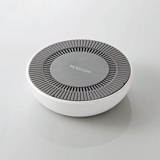 エレコム(ELECOM)の【新品】冷却ファン搭載 Qi ワイヤレス充電器 (10W・7.5W急速充電対応)(バッテリー/充電器)