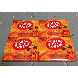 ネスレ(Nestle)のキットカット ショコラオレンジ 4箱(菓子/デザート)