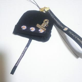 ピースマイナスワン(PEACEMINUSONE)の👑BIGBANG G-DRAGON ニット帽ストラップ②👑(アイドルグッズ)