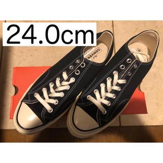 コンバース(CONVERSE)の【送料無料】ct70 チャックテイラー converse 24.0cm ブラック(スニーカー)