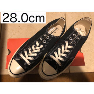コンバース(CONVERSE)の【送料無料】ct70 チャックテイラー converse 28.0cm ブラック(スニーカー)