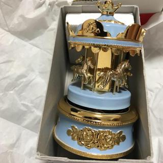 サンキョー(SANKYO)のメリーゴーランド型オルゴール(オルゴール)