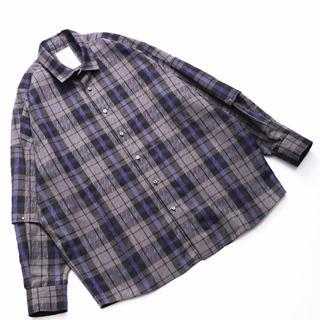 shareef 19ss チェックシャツ お求めの方はお早めにお願いします