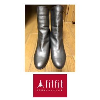 フィットフィット(fitfit)のfit fit 23.5cm ショートブーツ(ブーツ)